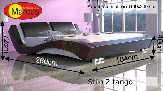 łóżko flamenco 160x200 cm