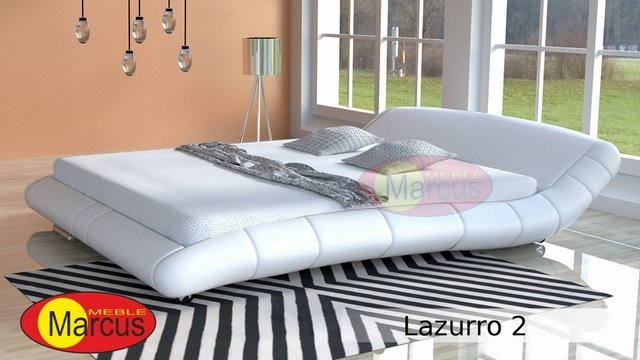 łóżko Tapicerowane Lazurro 2 Tkanina Mineva Autorska Kolekcja
