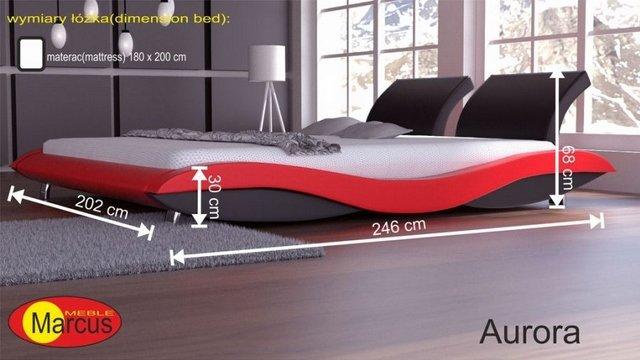 łóżko aurora 180x200 cm