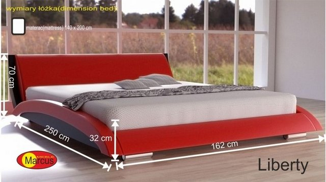 łóżko lozko liberty 140x200 cm