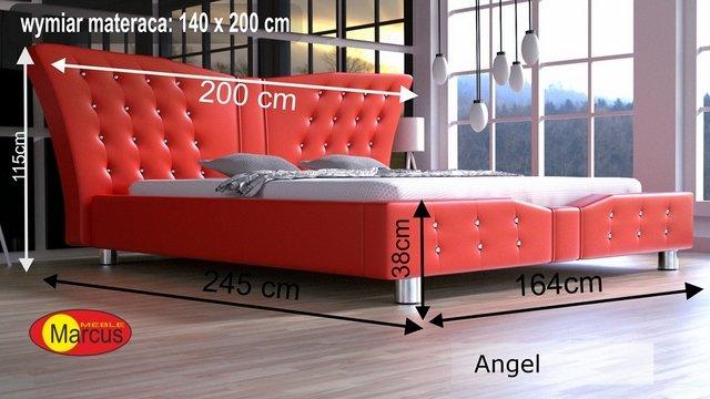 łóżko lozko Angel 140x200 cm