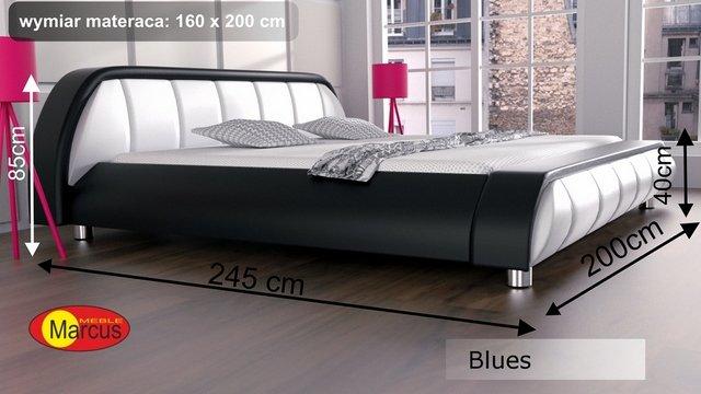 łóżko blues 160x200 cm