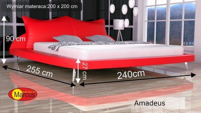 łóżko amadeus 200x200 cm