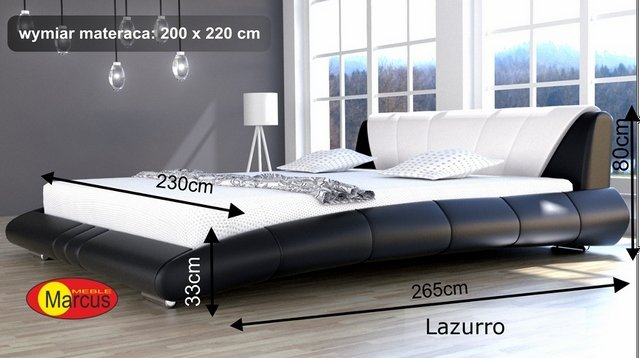 łóżko Lazurro 200x220 cm