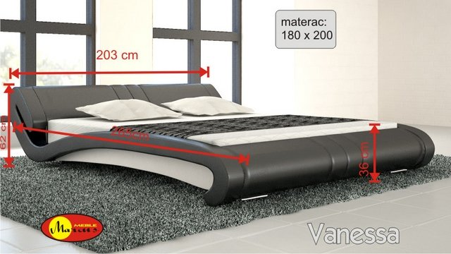 łóżko Stilo 2  180x200 cm
